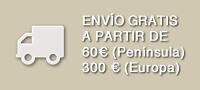 Envío gratis a partir de 60€