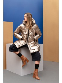 EUGENIE MID METALLIC JACKET