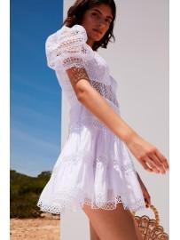 Short Dress Katharine XS BLANCO